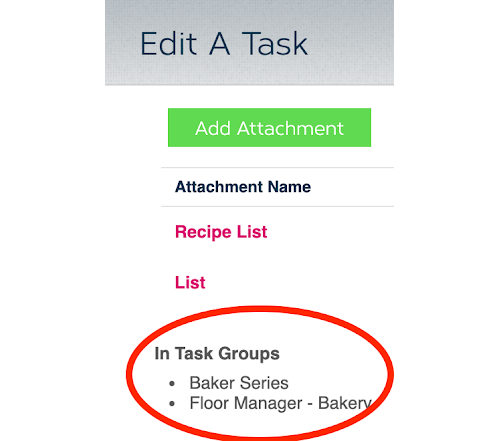 task groups inclusion